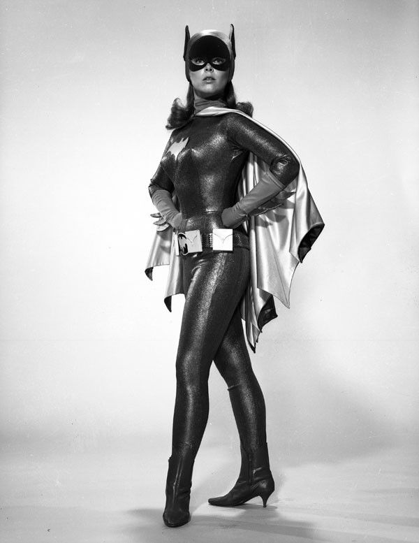 Batman Classic 1966 TV Batgirl Portrait Gallery Print