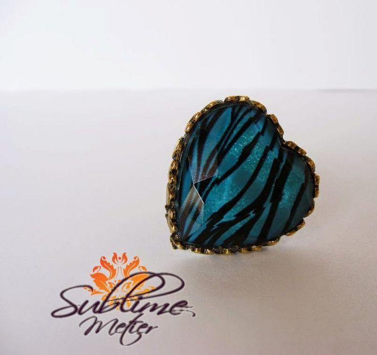 Sublime Metier: Inel Blue Tiger