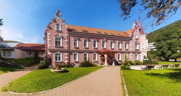 Trencianske Teplice #spa exterior, Slovakia