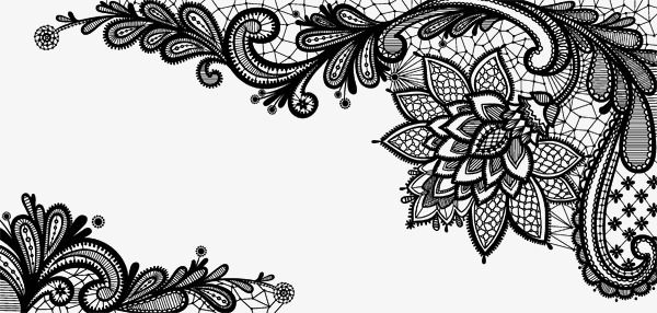 Lace Frame Lace Vector Png And Vector With Transparent