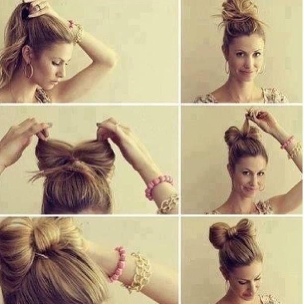 Capelli con fiocco  #hair #fiocco #tutorial
