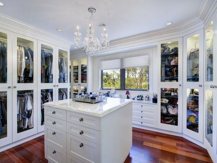 196 best images about closets on pinterest walk in for Closet island with glass top