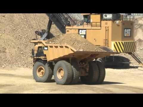 Heavy Construction News - Cat Surface Mining Product Demo - Copenhaver Construction Inc