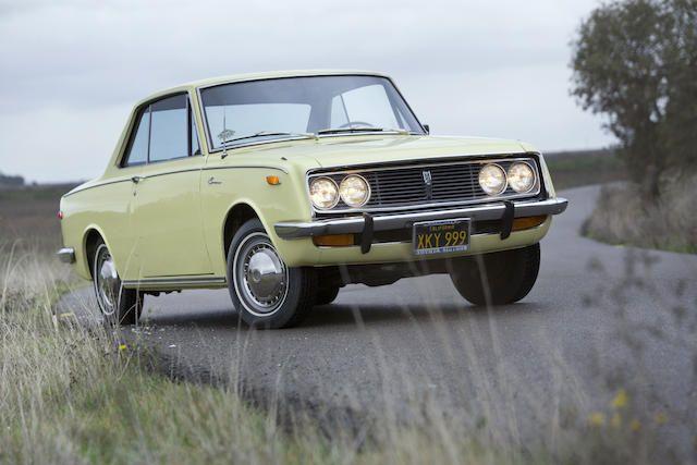 1968 Toyota Corona Two-Door Hardtop