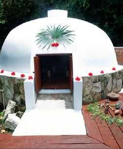 Ancient Aztec Temazcal ritual hut at the spa at Now Sapphire Mystical and Magical Moment of NOW. BIG LOVE!