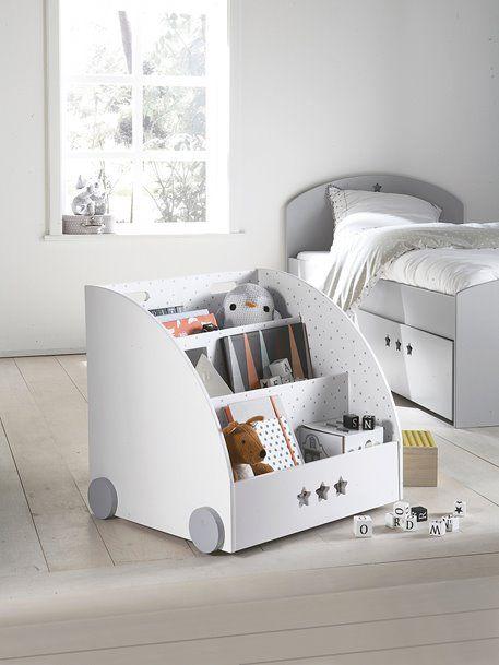 Bücherregal \'Sirius\' für Kinderzimmer - weiß/grau - 8   Kinder ...