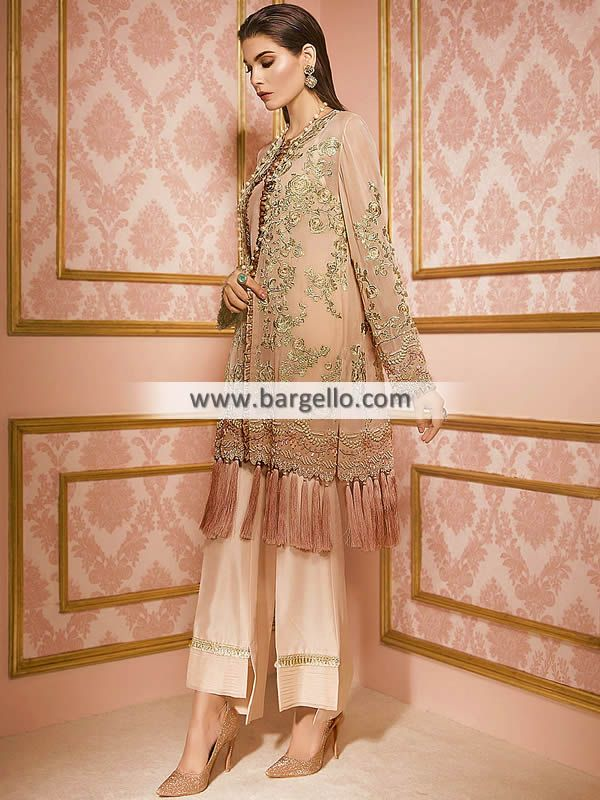 8eedb93d496 Apricoat Crocus Pakistani Party Dresses Matawan New Jersey NJ USA Party  Dresses Pakistan Women   Dresses   Party Wear   Prepare for a night of  luxury in ...