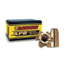"Barnes 357 Magnum (.357"") 140 Gr. Flat Base XPB Pistol (Lead-Core) Bullets (Box of 20)"