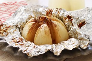 Grilled Onion Blossom recipe - not so sure about using A-1, but this looks pretty good.