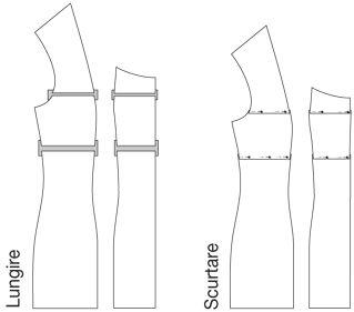 Tipare de Croitorie - Tabel Marimi Burda Style