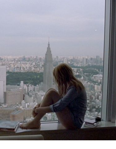 TOKYO: Lost in Translation (2003).  Park Hyatt Tokyo Hotel with an incredible view.