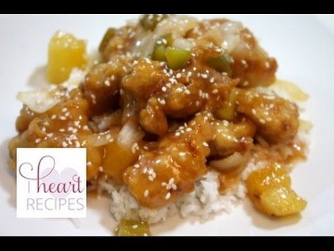 How to make Sweet and Sour Chicken - Easy Recipe - I Heart Recipes
