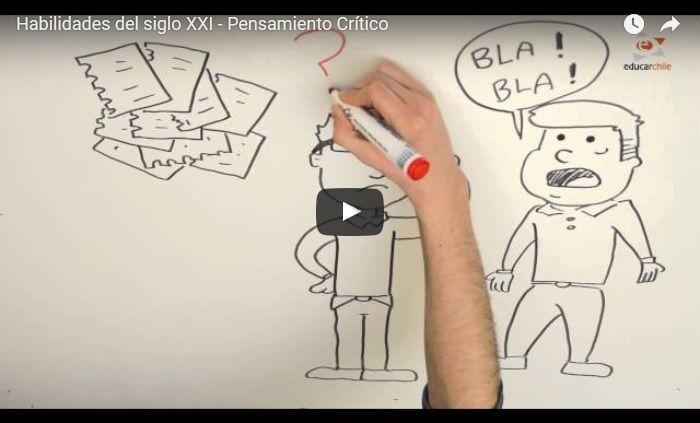"""Hola: Compartimos un interesante video sobre """"Habilidades del Siglo XXI – Pensamiento Crítico"""" Un gran saludo.  Visto en: youtube.com Acceda al video desde: AQUÍ  Tamb…"""