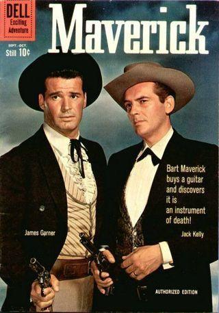 COMPLETE Maverick Comics Books Series on DVD - TV Golden Age Western Cowboy