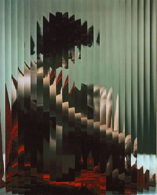 Lisette Behind Glass - The Estate of Erwin Blumenfeld, collection Henry et Yorick Blumenfeld