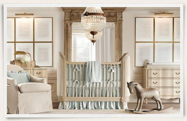 königlicher Stil-Babyzimmer Design USA