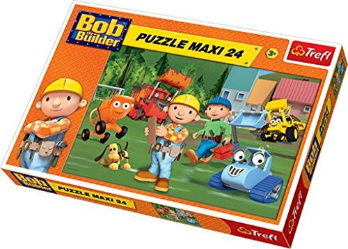 Trefl Puzzle On The Pitch Bob The Builder (24 Pieces)