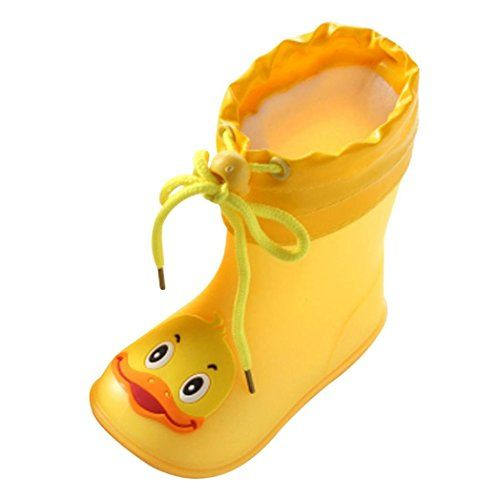 Waterproof Rubber Anti-Slip Boots Infant Baby Rain Boots Kids Rain Shoes