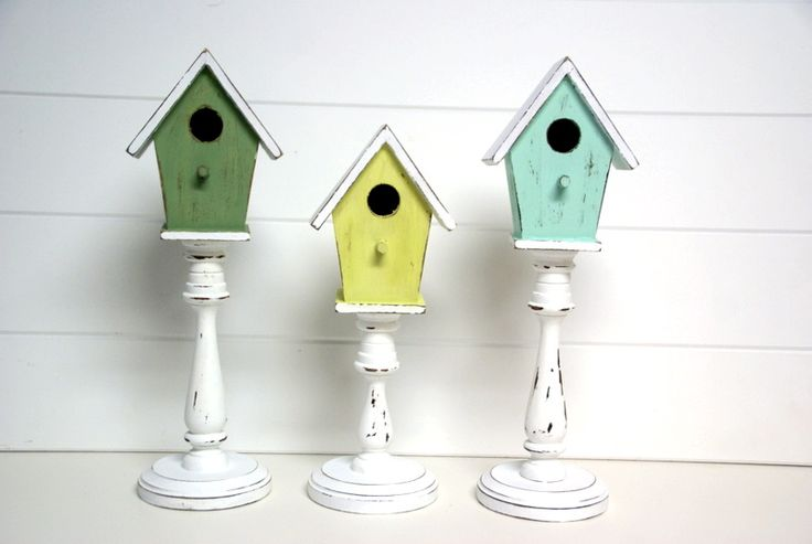 Spring decorating Tutorial for birdhouse decor