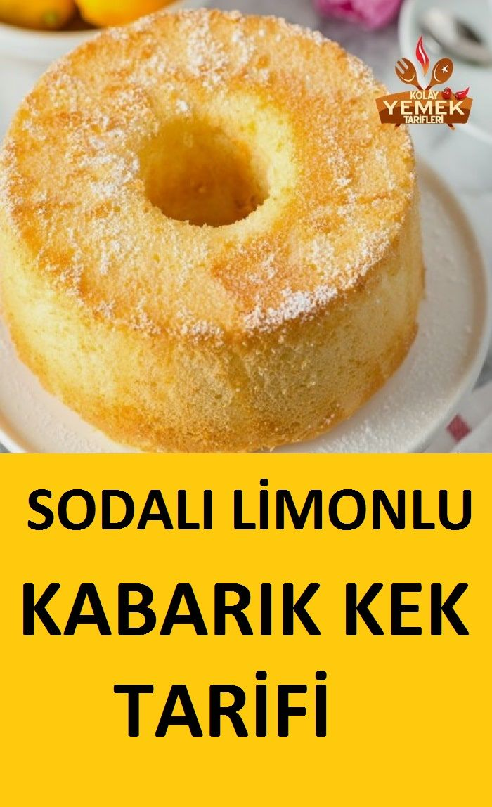 Photo of Lemon Soda Cake Recipe