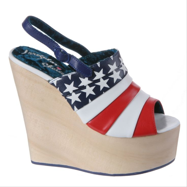 IRREGULAR CHOICE: Chica Chola in Red & Blue | JoliWorld