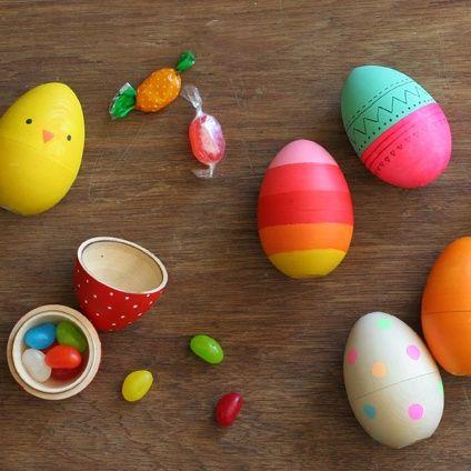wooden nesting eggs