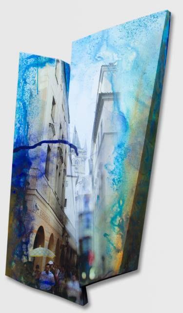 """Saatchi Art Artist Paul Brandejs; Painting, """"5 after 6"""" #art"""