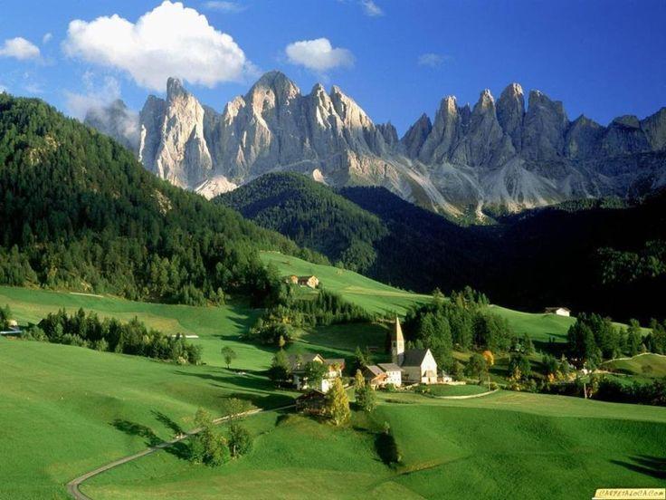Italia - valdunes, tirol del sur