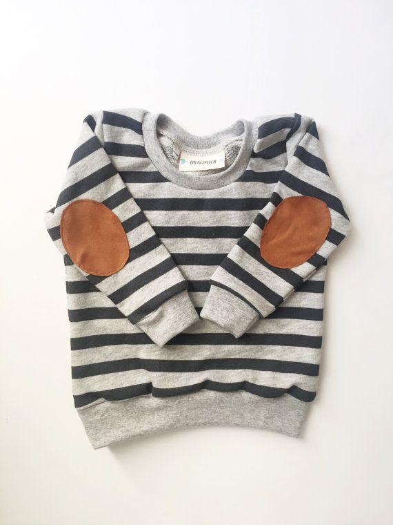 elbow patch sweatshirt,  baby sweatshirt, toddler sweatshirt, kids clothing, boy clothes, kids clothes, baby sweats, boys clothing