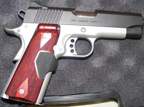Kimber pro crimson carry 2 Find our speedloader now! http://www.amazon.com/shops/raeind