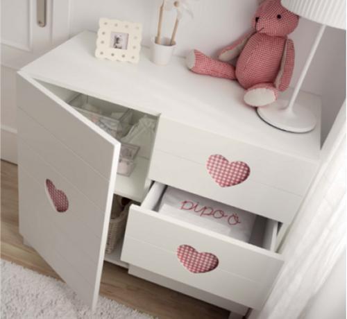 Best 12 MUEBLES PARA BEBES images on Pinterest | Child room, Baby ...