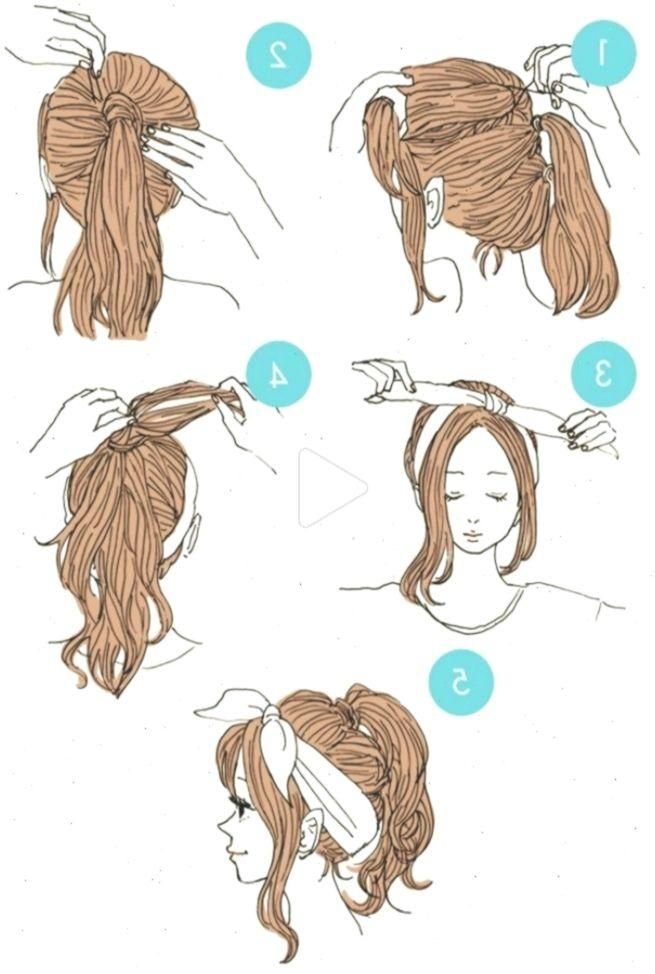 20 Super Cute And Easy Hairstyles That Anyone Can Do Einfachefrisuren Easyhairstyleswithbandana Stylish Hair Easy Hairstyles Hair Styles