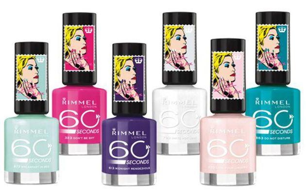 Rimmel 60 Seconds Nail Polish by Rita Ora: http://beautyeditor.ca/2014/09/15/rita-ora-rimmel-nail-polish