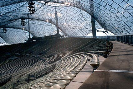 Munich Olympic Stadium, Frei OTTO