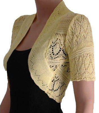 Ladies Bolero Shrug Crochet Knitted Cardigan In Sizes 8-22 (12/14, Yellow) RageIT http://www.amazon.com/dp/B006U3QY3S/ref=cm_sw_r_pi_dp_oy.uvb0EEWNGK
