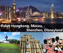 Travel packages to Hongkong, Macau, Shenzhen, Disneyland, Ocean Park. Can't choose? Visit all of them :) Packages available from 3Day to 6Day. Departure from Jakarta.
