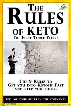 The Keto Rules. If you are a Keto Diet Beginner, the ketogenic diet can be overw...