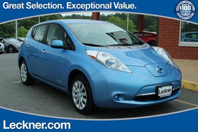 Cars for Sale: Used 2014 Nissan Leaf S for sale in STAFFORD, VA 22554: Hatchback Details - 456708572 - Autotrader
