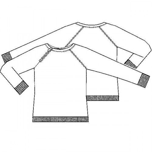 Patroon sweater (PDF-patroon) | jongens | Knippie naaipatronen