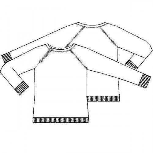 Patroon sweater (PDF-patroon) | jongens | Knippie naaipatronen
