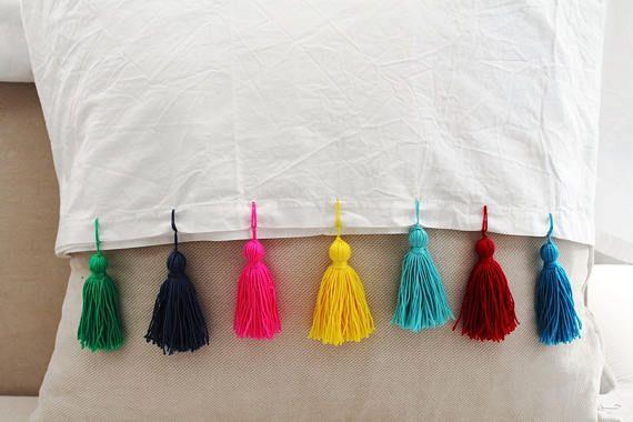 Morocco Tassel,Home Decor Tassels,Curtain, bed sheet, tablecloth edge tassel 3  25 pcs