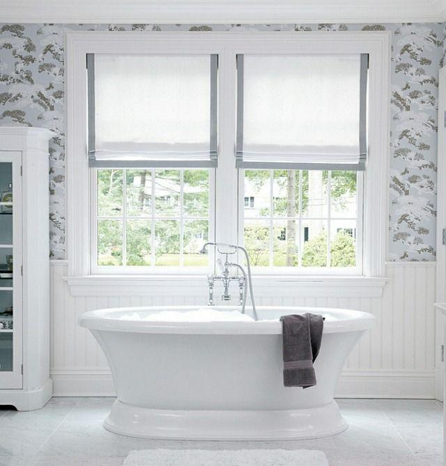 les 25 meilleures id es de la cat gorie rideaux de fen tre de salle de bains sur pinterest. Black Bedroom Furniture Sets. Home Design Ideas