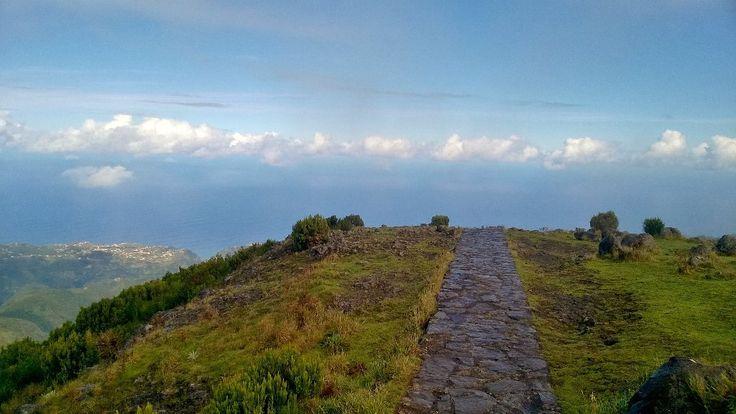 #Camminare tra le nuvole, perdersi lungo le #levadas rilassarsi bevendo #poncha #madeira #mare