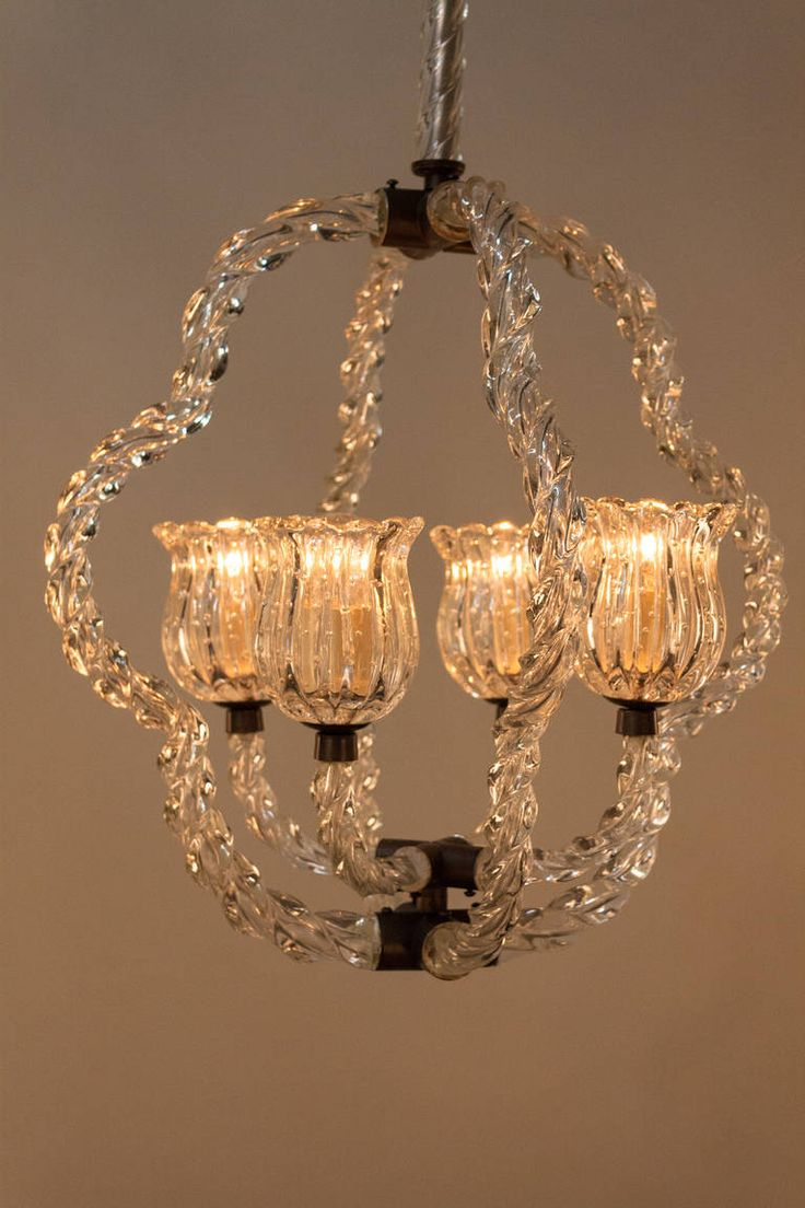 Italian Glass Chandelier   From a unique collection of antique and modern chandeliers and pendants  at https://www.1stdibs.com/furniture/lighting/chandeliers-pendant-lights/