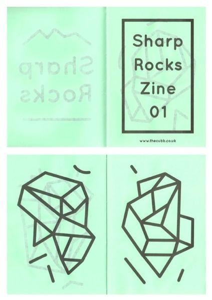Sharp Rock Zine — Designspiration