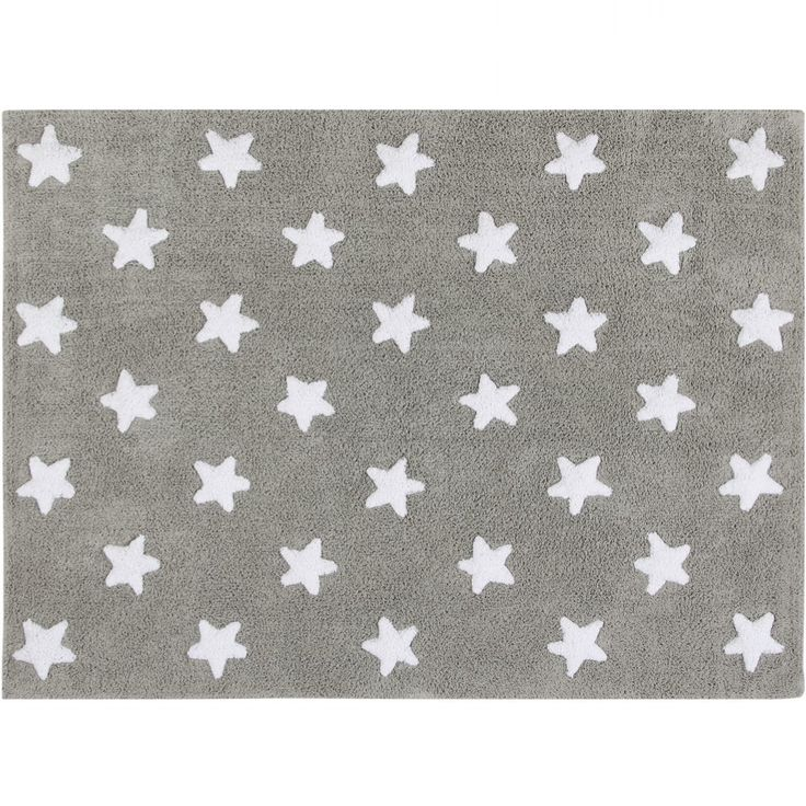 Szary dywan do prania w pralce - Lorena Canals STARS - NieMaJakwDomu