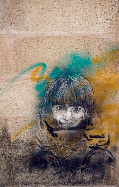Streetart in Ciutadella, Menorca