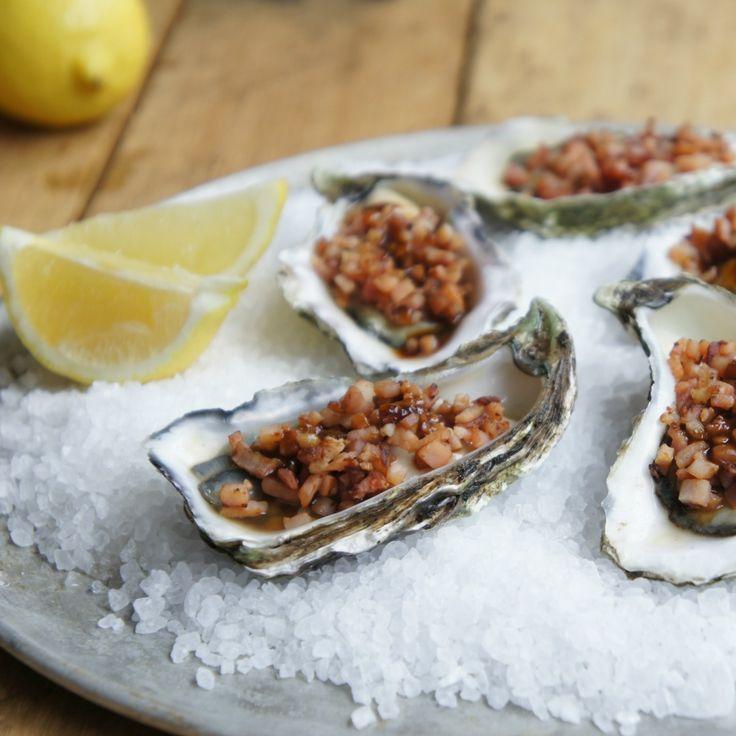 Oysters Kilpatrick from zeena_au will make you feel fancy.