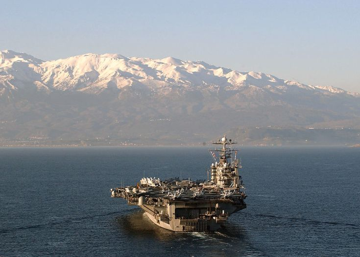 I saw those mountains when I was onboard the USS Theodore Roosevelt (CVN-71) in March 2003...So Beautiful