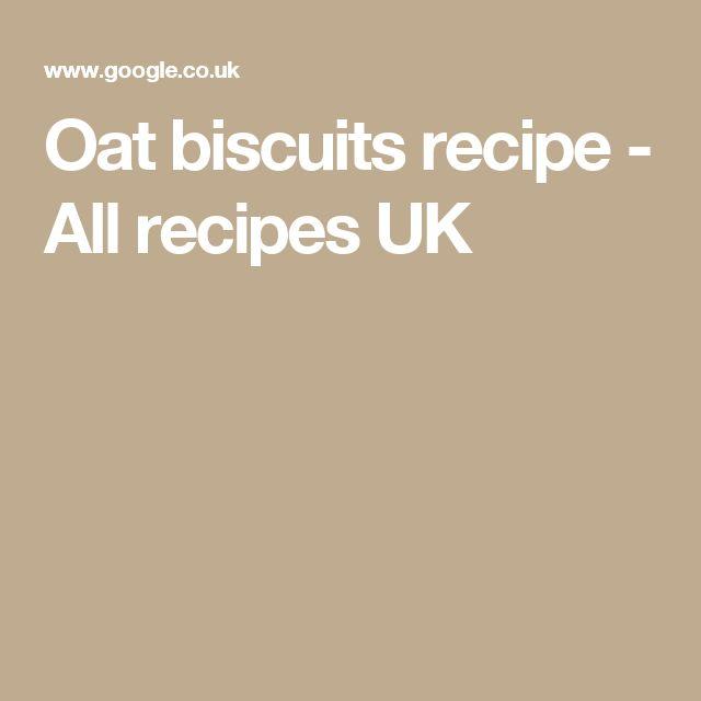 Oat biscuits recipe - All recipes UK